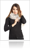 Fur scarves the perfect accessory - Thumb